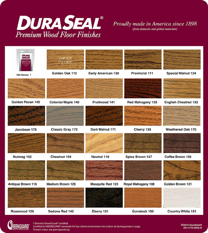 DuraSeal Premium Wood Stains